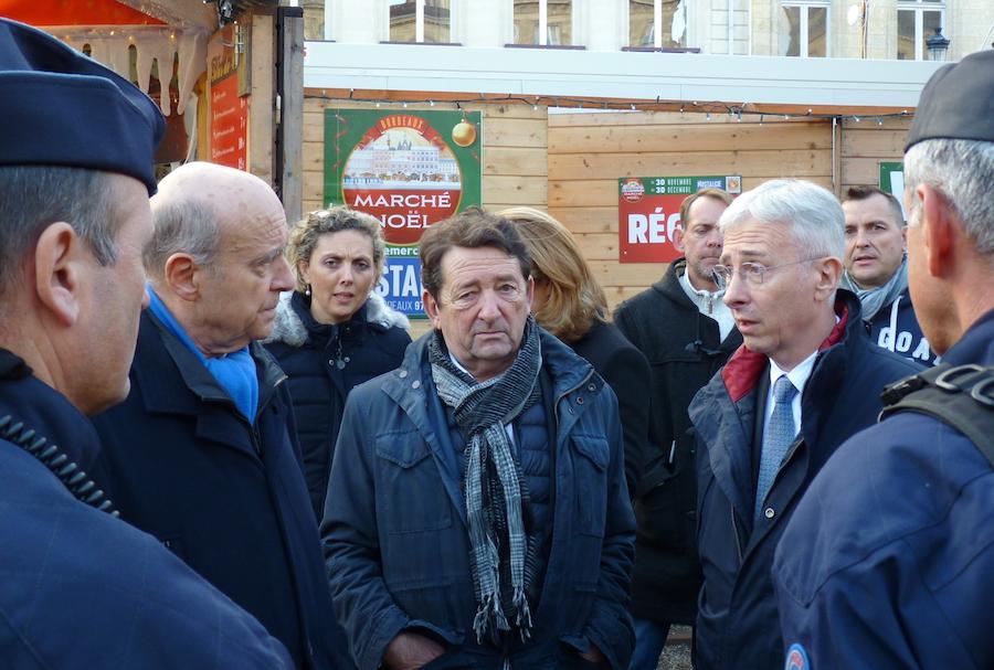 Sécurité renforcée au marché de Noël à Bordeaux