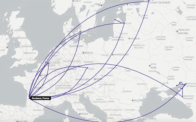 De Bordeaux à Copenhague : les Ultras s'exportent