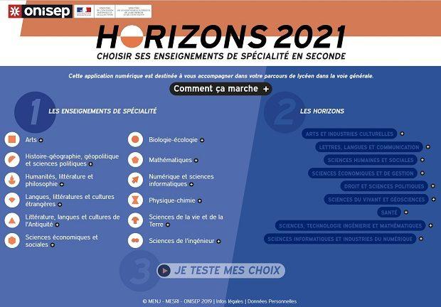 Quels horizons pour les  futurs lycéens ?