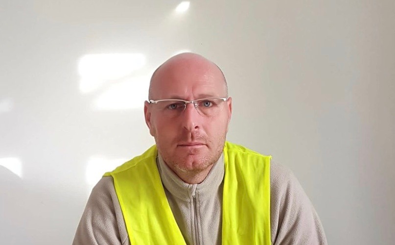 Arnaud Chédeville, « Je suis candidat pour être messager des gilets jaunes en Gironde »